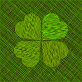 Abstract St. Patrick's day vector illustration