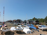 Leisure boats at Orford Harbour