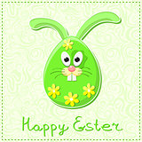 Cute Happy Easter Rabbit Bunny