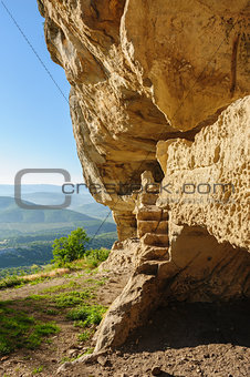 Caves at Tepe Kermen, Crimea