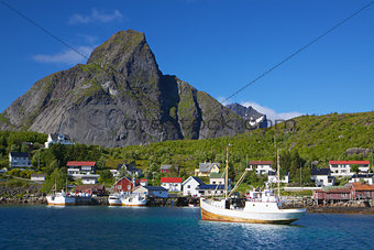 Fishing boats in Norway