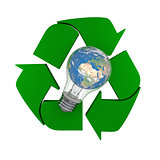 Global recycling idea