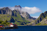 Picturesque norwegian panorama