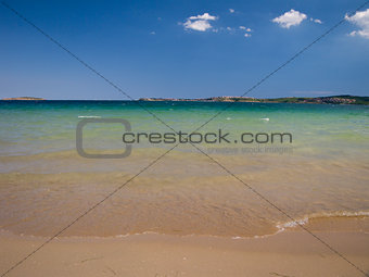 "Bulgarian seaside landscapes – beautiful beach near Sozopol – camping site ""Gradina"""