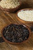 Wild Rice, Quinoa and Brown Rice