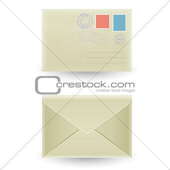 closed envelope