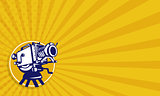 Vintage Movie Film Camera Retro