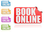 Book online label set
