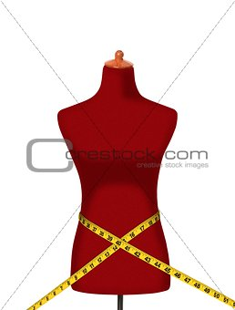 Measuring Tape Around Waist