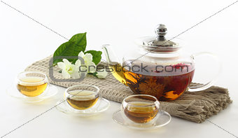 Aromatic tea.