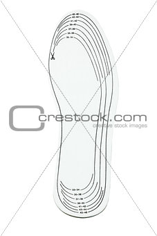 Adjustable Size Shoe Insole