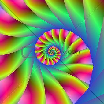 Psychedelic Spiral Steps
