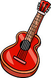 acoustic guitar cartoon clip art