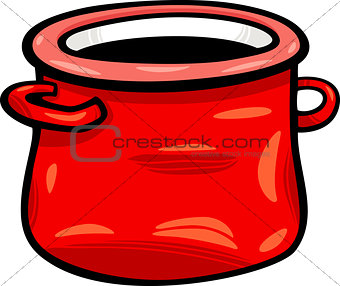 pot or jar cartoon clip art