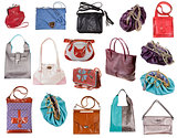 set of ladies bags