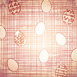 Easter Grunge Background