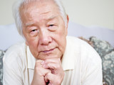 asian senior man