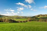Large pastureland in Wales
