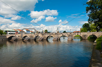 Bridge in Pisek