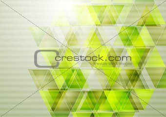 Green technology vector design