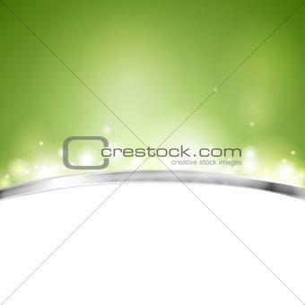 Green shiny vector design