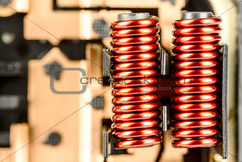 An electrical coils