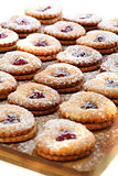 Linzer Cookie.