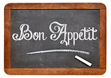 Bon Appetit on blackboard
