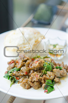 asian meal ,spicy food