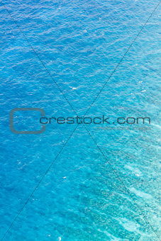 Aerial caribbean background