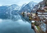 Hallstatt winter view (Austria)