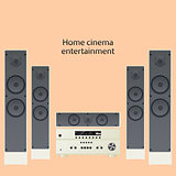 Home cinema speaker system