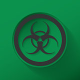 Sign biological hazard