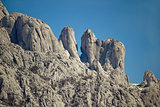 Stone sculptures of Velebit mountain