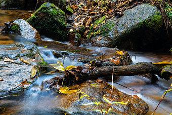 stream of Changbai mountain