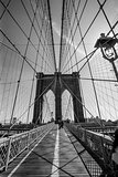 Brooklyn Bridge black and white