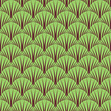 Seamless symbolic forest pattern.