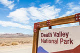 Death Valley Entrance