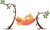 Teddy Bear Swinging
