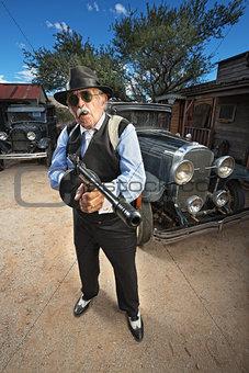 Tough Mature Gangster