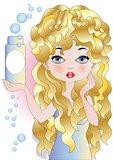 Beauty hair style