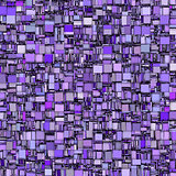abstract tile mosaic backdrop in purple