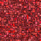 abstract tile mosaic backdrop in red pink