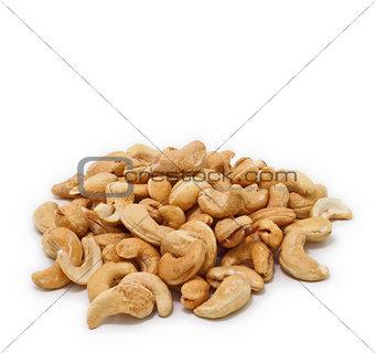 Cashew nuts dried