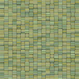 mosaic tiled yellow green striped backdrop
