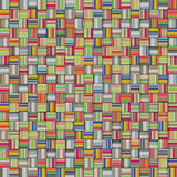 mosaic tiled rainbow color striped checker backdrop