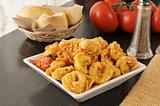 Tortellini with Roasted Tomato Pesto