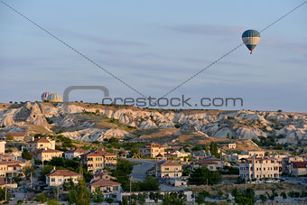 Cappadocia -  air-balloon flying