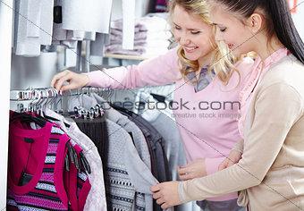 Beautiful shoppers
