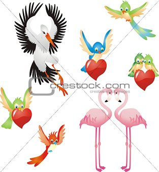 Love me - Birds collection